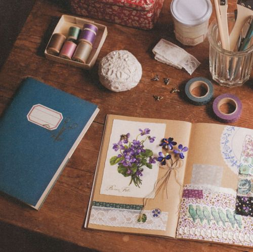 spring violetsJournals Inspiration, Food For Thoughts, Art Journals, Smash Journals, Notebooks, Scrapbook Art, Earth Day, Press Flower, Desks Spaces
