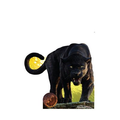 The Jungle Book - Bagheera Disney Live Action Life-Size Cardboard Cutout &