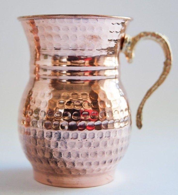 Turkish Traditional Handmade Copper Mug,Stoup,Wine,Cockteyl Cup,Moscow Mug Mule  #Handmade