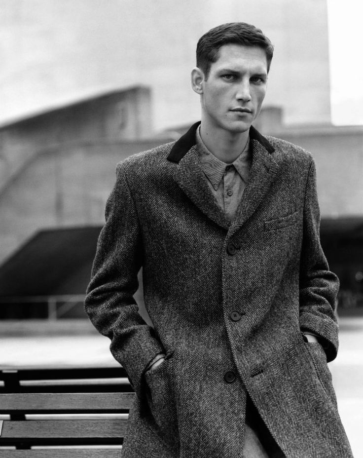 French Model Roch Barbot by Alasdair McLellan for Margaret Howell's Fall 2011 campaign