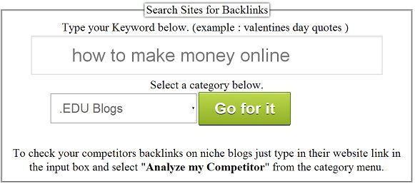 Learn how to build high quality backlinks with backlink generator tool. Read the entire article and you will easily be able to build high quality backlinks using this simple backlink generator tool created by us.