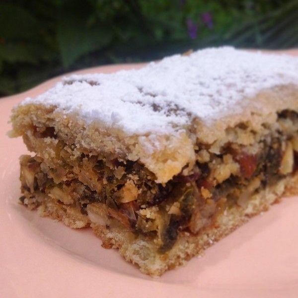 Tourta de blea, dessert niçois (tourte de blettes aux pignons) {Nice, Côte d'Azur}