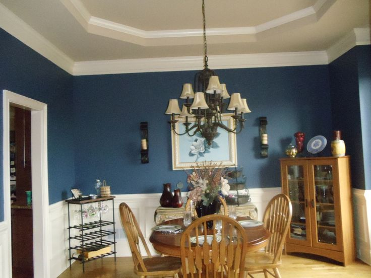 Paint color behr english channel blue color selected for kitchen repaint will use swiss - Behr kitchen paint colors ...