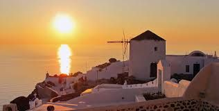 Sunset views from Oia, Santorini island, Greece - selected by oiamansion.com