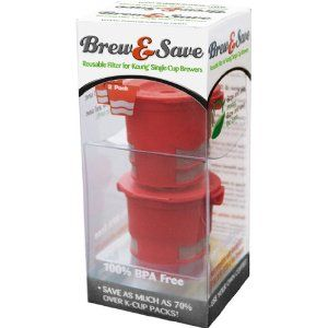 Brew and Save Refillable K Cup for Keurig Brewers, 2 Count: Amazon.ca: Home & Kitchen