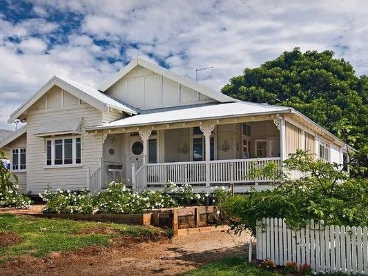 Classic Queenslander restored.
