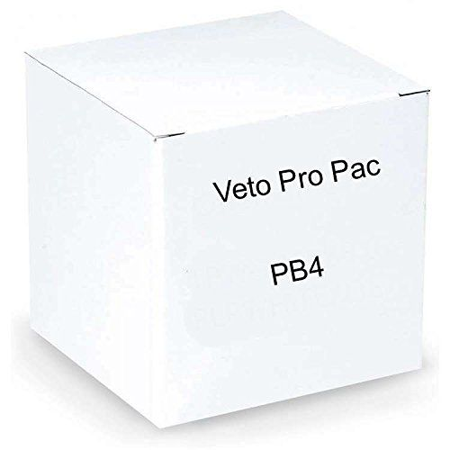 Veto Pro Pac PB4, Small Tool Bags and Tool Tote 4 Pack. Tool Bag Made of Durable Nylon Mesh Fabric and Zipper Access. Perfect Tool Kit and Tool Storage For Small HVAC Tools. Tool Backpack Storage Tote