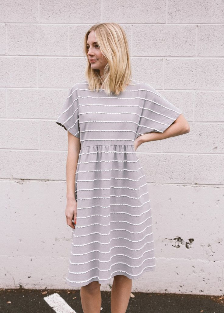 Shiloh Dress in Cloud 17