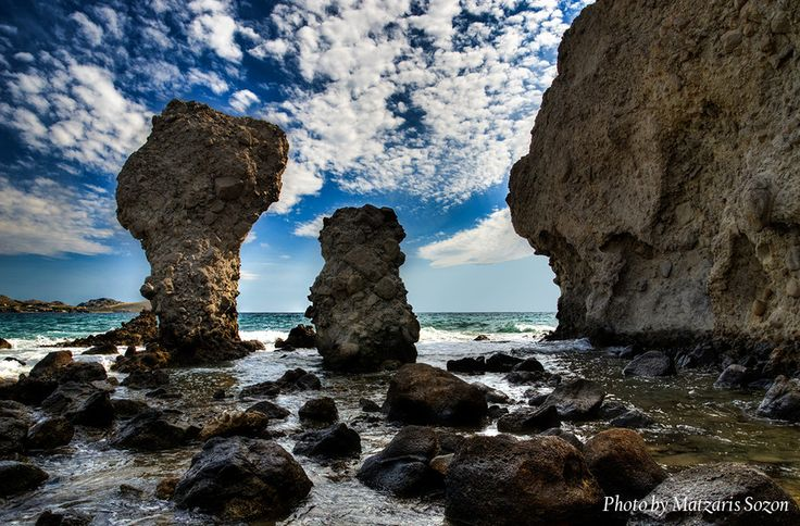 500px / Rocks In The Sea by Sozon Matzaris