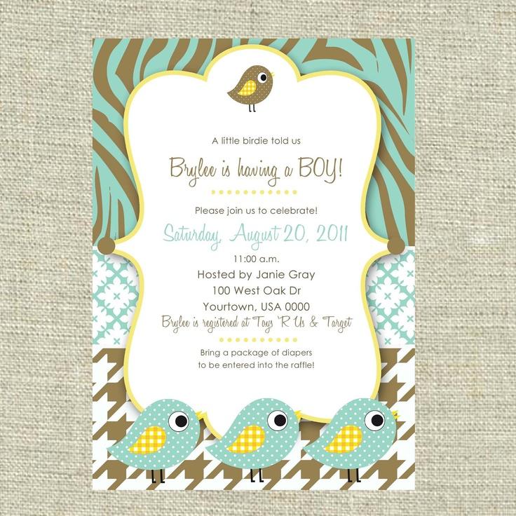 78 best Baby Boy Shower Invitation images on Pinterest   Baby shower ...