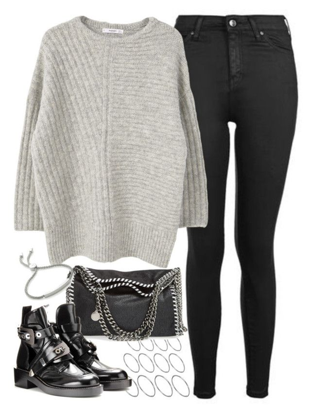 """""""Untitled #160"""" by simonakolevaa ❤ liked on Polyvore featuring Topshop, ASOS, STELLA McCARTNEY, MANGO and Monica Vinader"""
