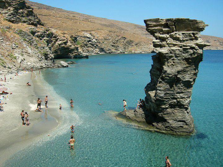 The beach of Pidima tis Grias
