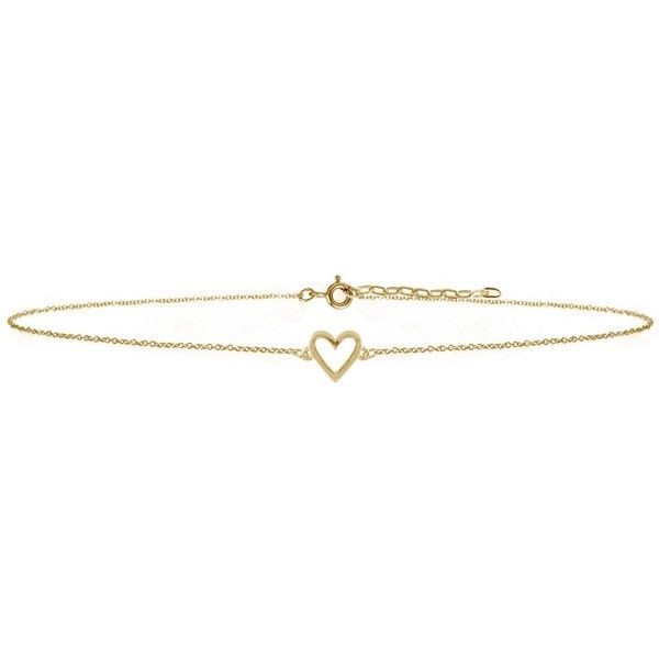 Lee Renee - Heart Chocker Necklace Gold Vermeil ($93) ❤ liked on Polyvore featuring jewelry, necklaces, heart shaped necklace, heart-shaped jewelry, vermeil necklace, vermeil jewelry and heart necklace