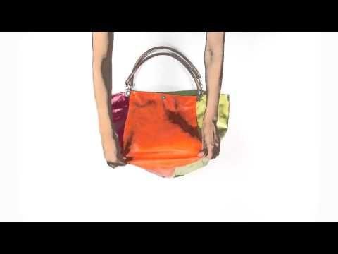 VIOLA – De tassen van het Italiaanse merk Gabs zijn multifunctioneel. Bekijk hoe je van 1 tas, verschillende modellen kunt maken. #multifunctioneel #gabs #handbag #bag #video