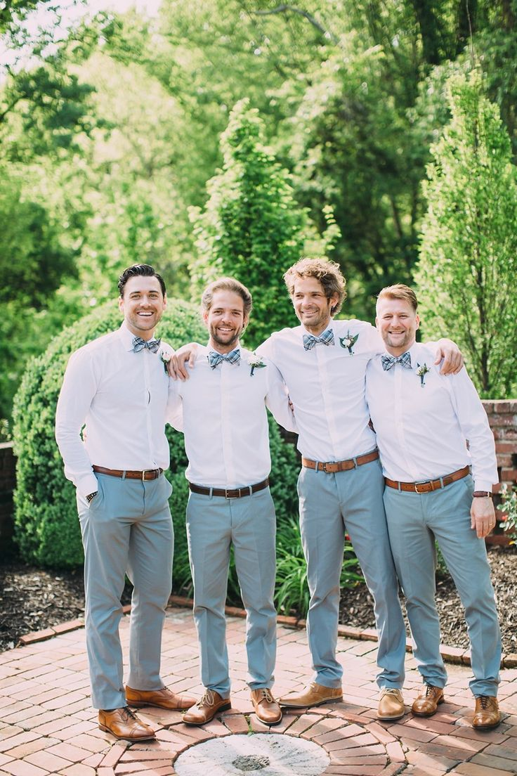 Vintage Inspired Summer Groom & Groomsmen