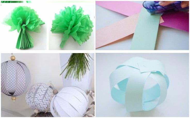 I➨ Entra y descubre ideas para hacer bolas de Navidad caseras. Cuando veas este post vas a querer hacer las tuyas. ¡Algunas son realmente geniales!