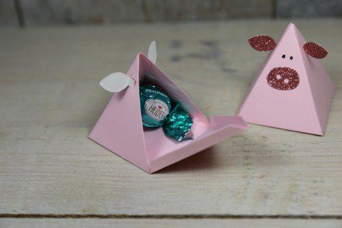 Schweinchenverpackung, Bild2, gebastelt mit Produkten von Stampin' Up!