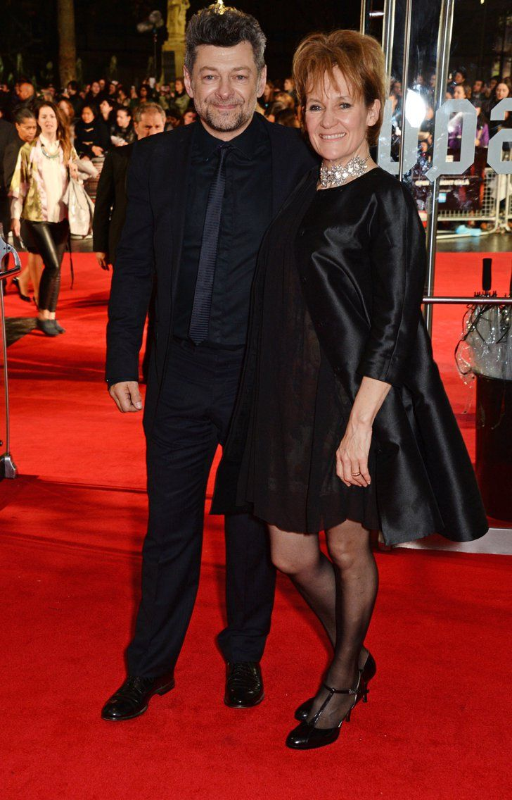 Pin for Later: That's a Wrap! See All the Stars Who Ditched Hollywood For the London Film Festival Lorraine Ashbourne and Andy Serkis Andy and Lorraine made a cute couple on the red carpet.