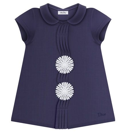 Baby Dior Dress with Daisies.