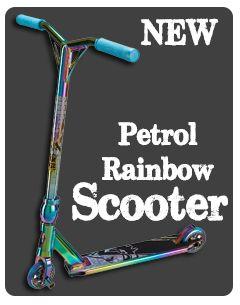 Rainbow Scooter