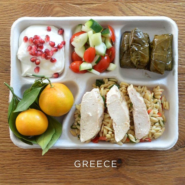 Photo Evidence That America Might Have the Worst School Lunches via Brit + Co.