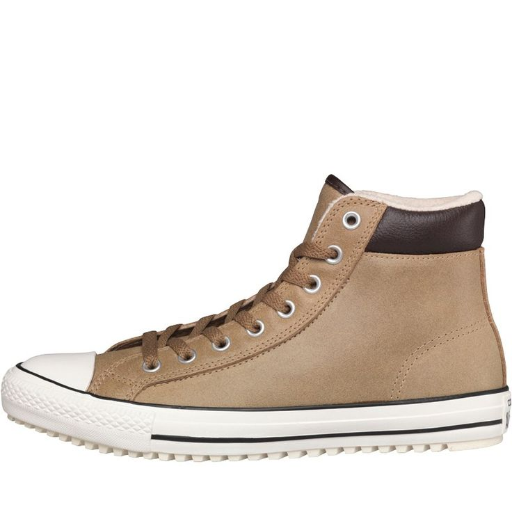 Converse Baskets CT All Star Hi Padded Collar Winter Lined Sand Homme Marron