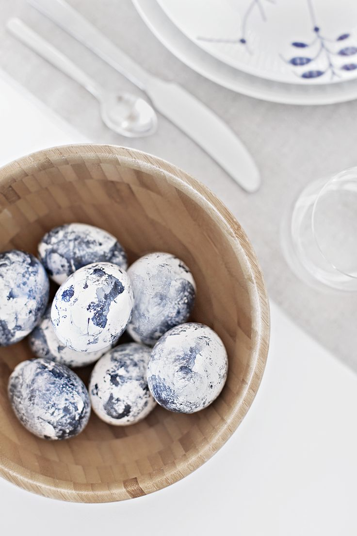 Stylizimo   Easter table setting & DIY Eggs