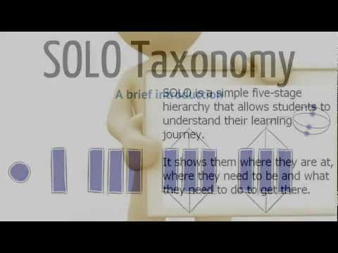 Introduction to SOLO Taxonomy - explained with Lego