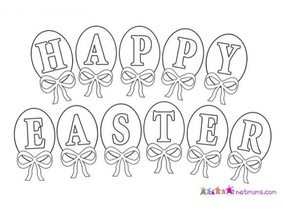 Easter Pictures Cards To Print Colour