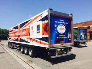 Aldi unveils Team GB liveried trucks - http://www.logistik-express.com/aldi-unveils-team-gb-liveried-trucks-2/