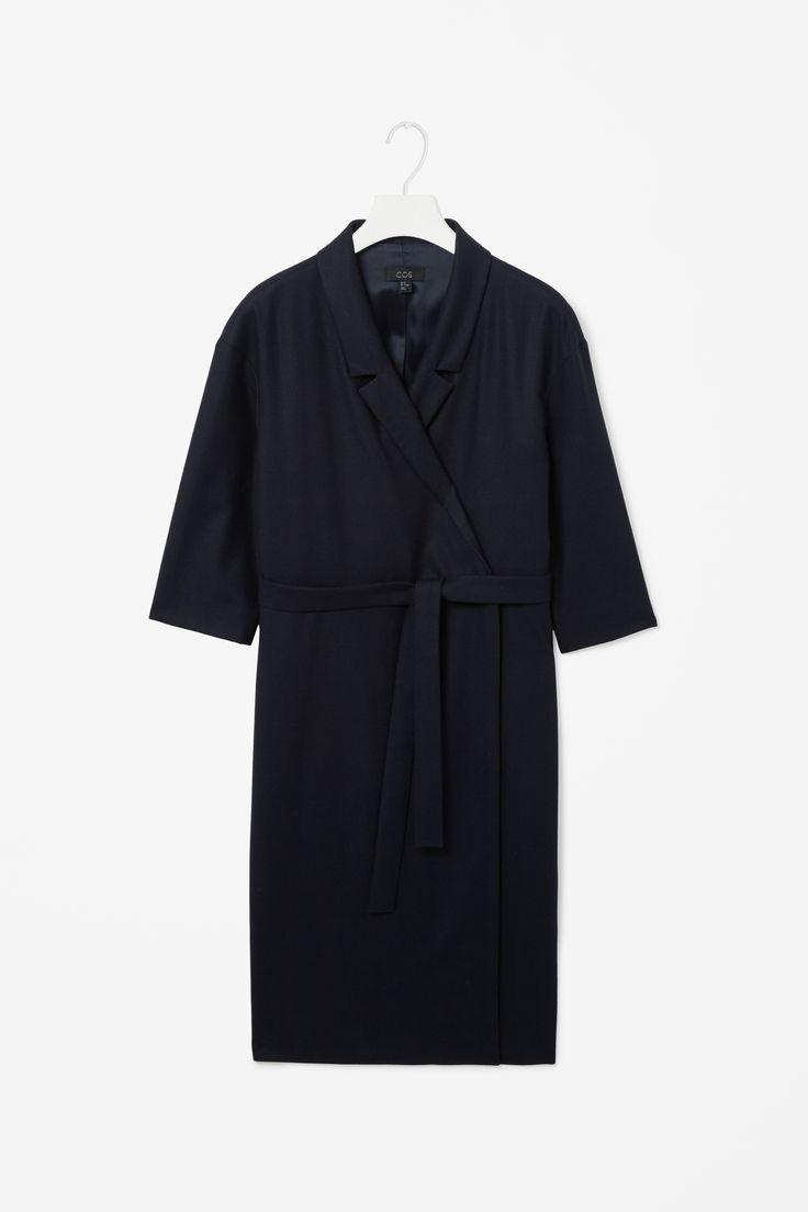 Tie-waist blazer dress