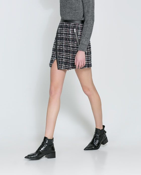 Image 2 of COMBINATION SKIRT from Zara