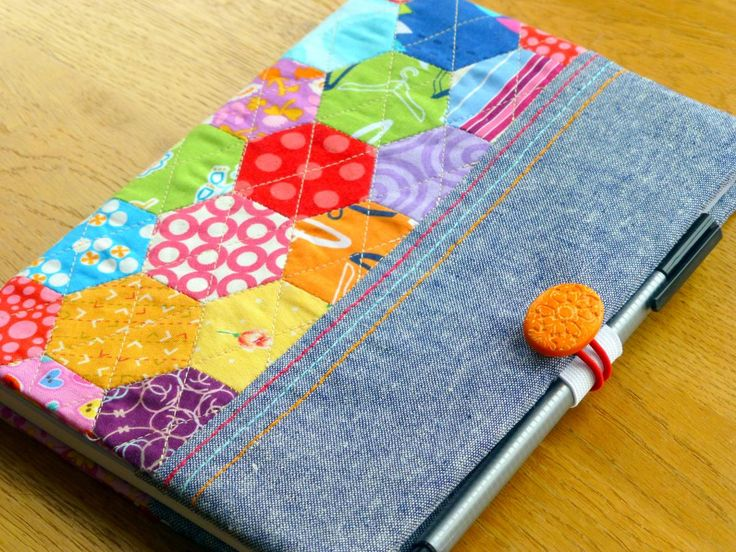 Hexie Notebook Cover | Craftsy