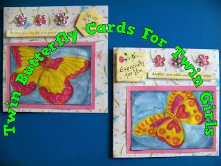 A Pretty Talent Blog: Cardmaking: To Colour Or To Paint Part 2