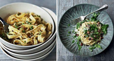 2 x nem og lækker pasta
