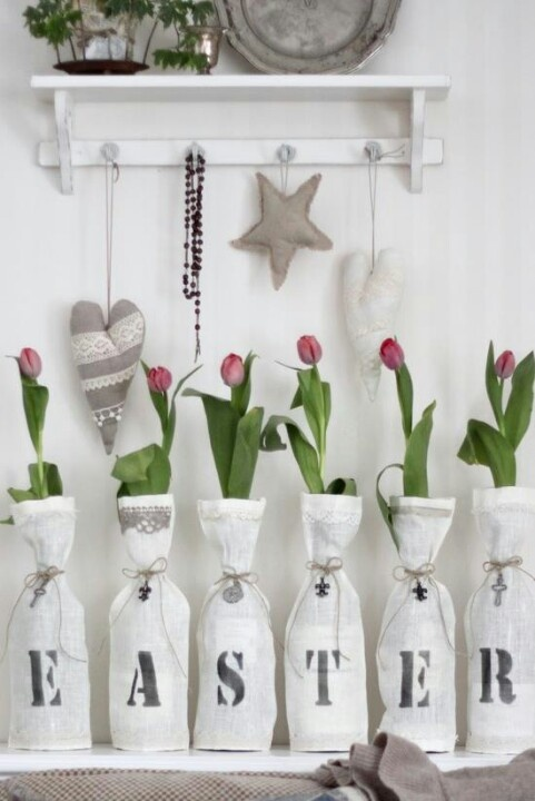 Easter decoration idea. Love it!