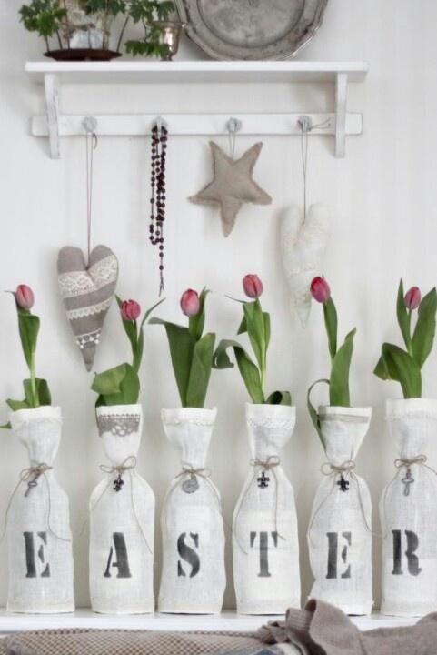 Easter decoration idea. Love it!