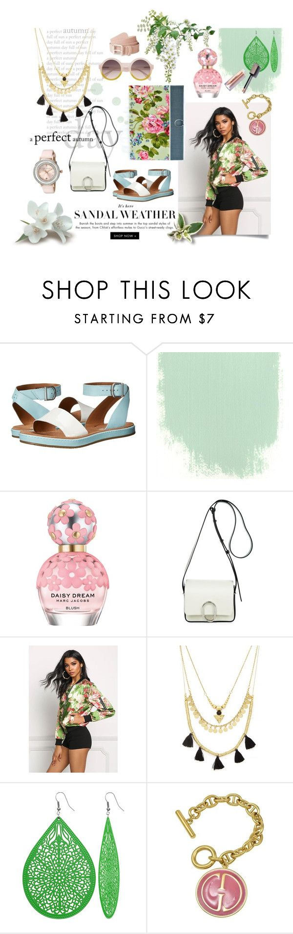 """""""Sandal weather"""" by iwona-estera on Polyvore featuring Clarks, Marc Jacobs, 3.1 Phillip Lim, Forever 21, Gucci and Ted Baker"""
