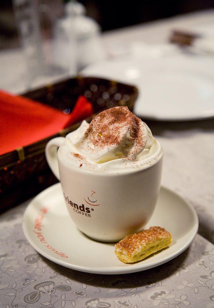 Christmas coffee in Krakow.