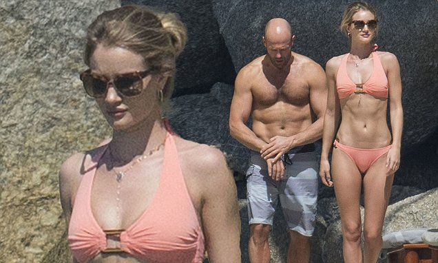 Rosie Huntington-Whiteley and Jason Statham put on sweet display during Thailand love-in | Daily Mail Online