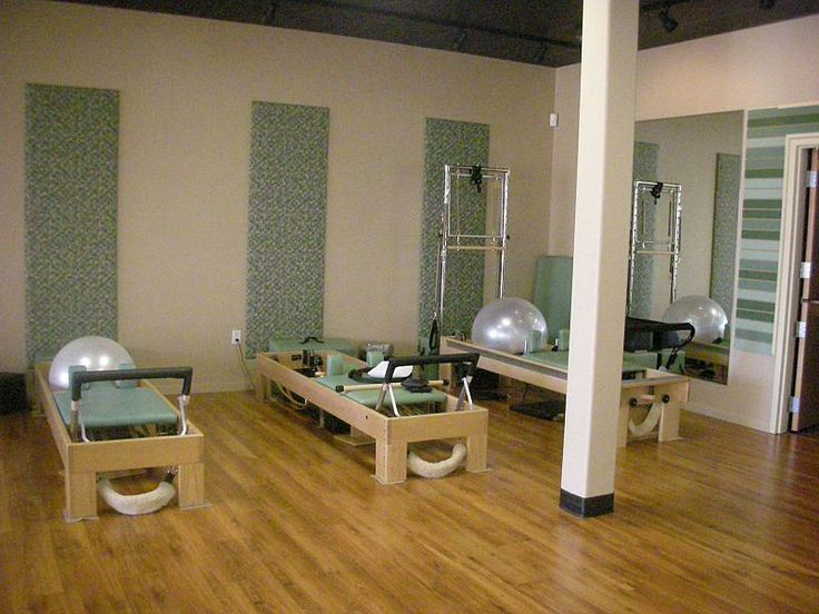 Awesome pilates studio decor by rhonda elaine vandiver for Interior designs by rhonda
