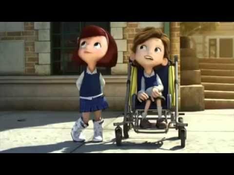 Història de Maria i el nen discapacitat.Curt guanyador del Premio Goya 2014 al Mejor Cortometraje de Animación.El curt trasmet ternura,  amistat  i generositat.