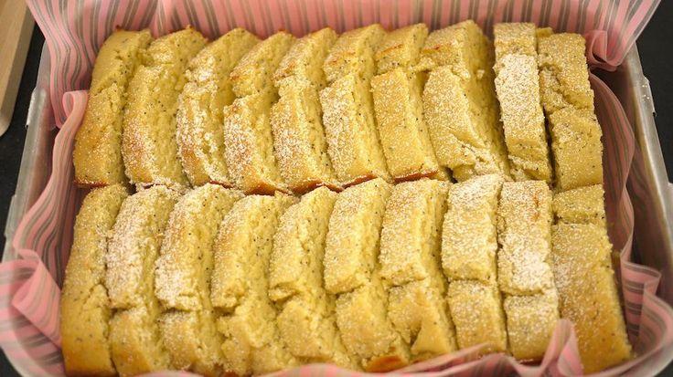Enkel og saftig sitronkake i form - Godt.no - Finn noe godt å spise
