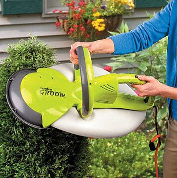 Garden Groom Pro Electric Hedge Trimmer contemporary gardening tools