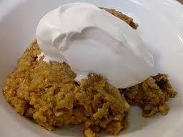 Crock Pot Crustless Pumpkin Pie (more like a pumpkin pudding)