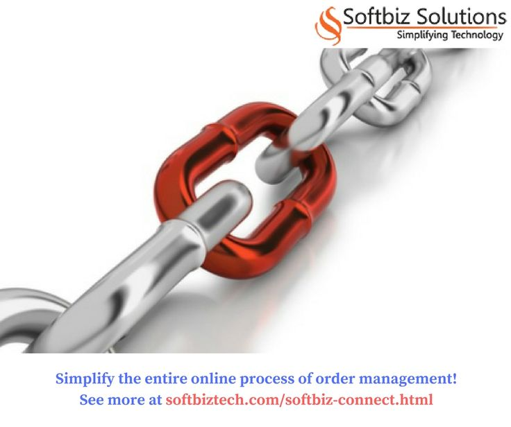 Simplify the entire online process of order management! Contact us at http://www.softbiztech.com/softbiz-connect.html