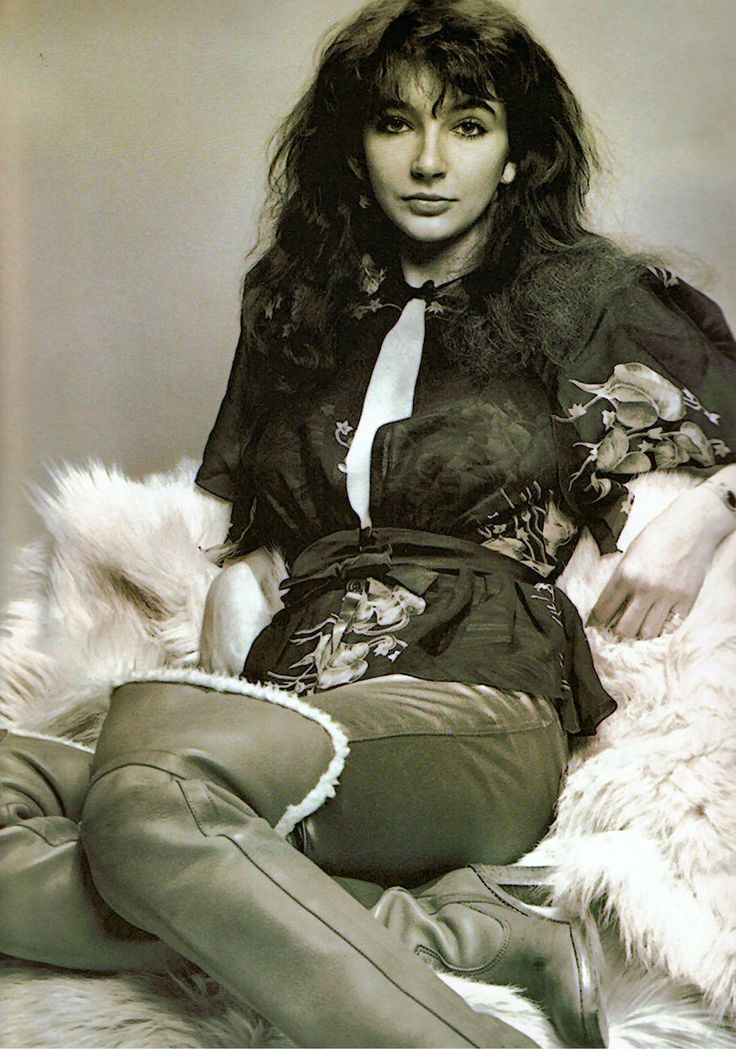 Kate Bush (July 30, 1958) British singer.