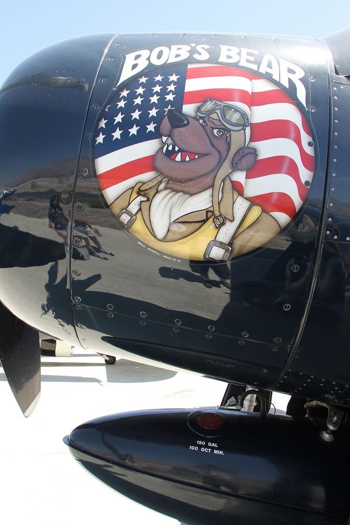 Palm Springs Air Museum: Grumman F8F Bearcat