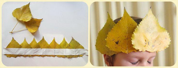 Leaves crown