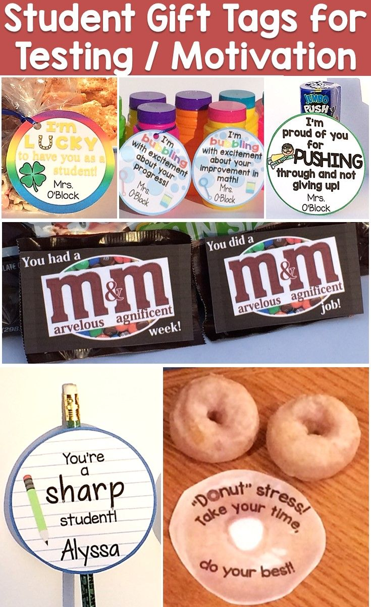 Over 20 ideas for creative student gifts that reward & motivate their hard work on tests or assessments, improved behavior, achievement of a milestone like learning all of their sight words or numbers to 100, or to celebrate the completion of a big project. You would be surprised how much a simple trinket with a positive, encouraging note means to a young child and how important it is to them that you noticed their efforts.